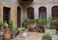 Der Innenhof des Hotels Beit Wakil von Aleppo