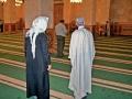 In der Umayyaden-Moschee von Aleppo