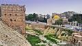Die Zitadelle von Aleppo