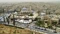 Blick von Aleppos Zitadelle auf die Stadt