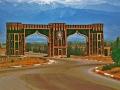 Aserbaidschan. Das Tor nach Scheki
