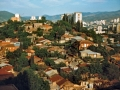 Georgien 1989, Tiflis, Blick aus Hotelfenster