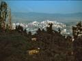 Georgien 1989, Tiflis, Blick vom Erholungspark zum Neubaugebiet