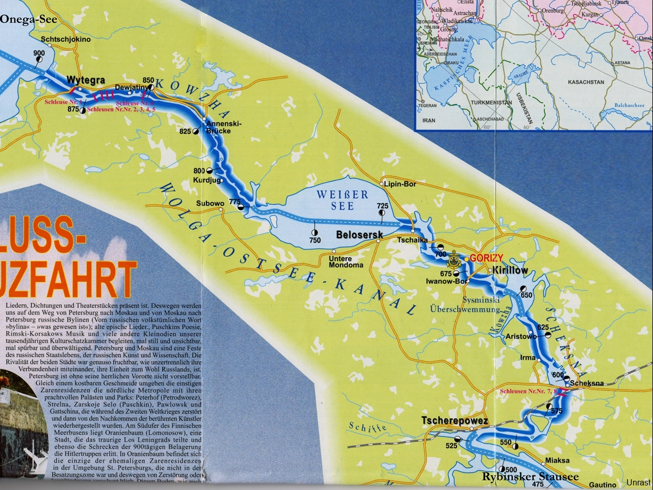 Wolga-Ostsee Kanal