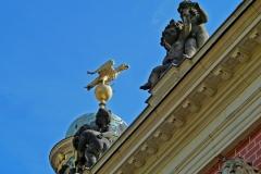 Potsdam, Sanssouci, Adler und Ganymed