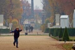 Potsdam, Sanssouci, wilder Knabe ;-)