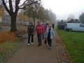 Wanderung auf dem Uferweg der Insel Werder