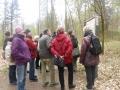 Wanderung im Park von Wiesenburg