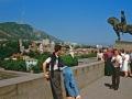 Georgien 1989, Tiflis, Reiterstandbild Wachtang Gorganzalis