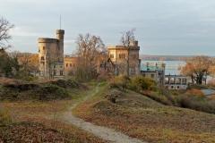 Potsdam, Schloss und See in Babelsberg