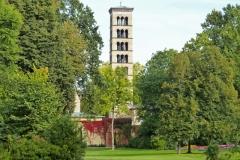Potsdam, Sanssouci, Campanile der Heilig Geist Kirche